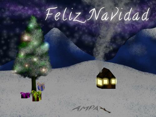 Felicitación diseñada por Valeria Abejón (3º ESO)